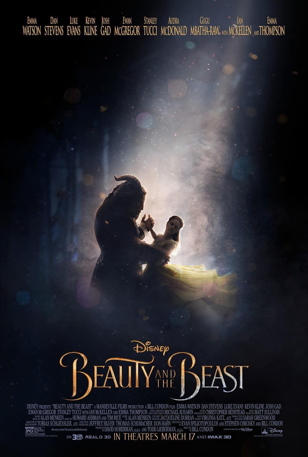 Plagát k filmu Kráska a Zviera