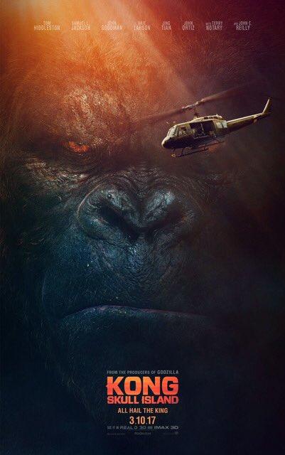 Nový plagát k filmu Kong: Skull Island