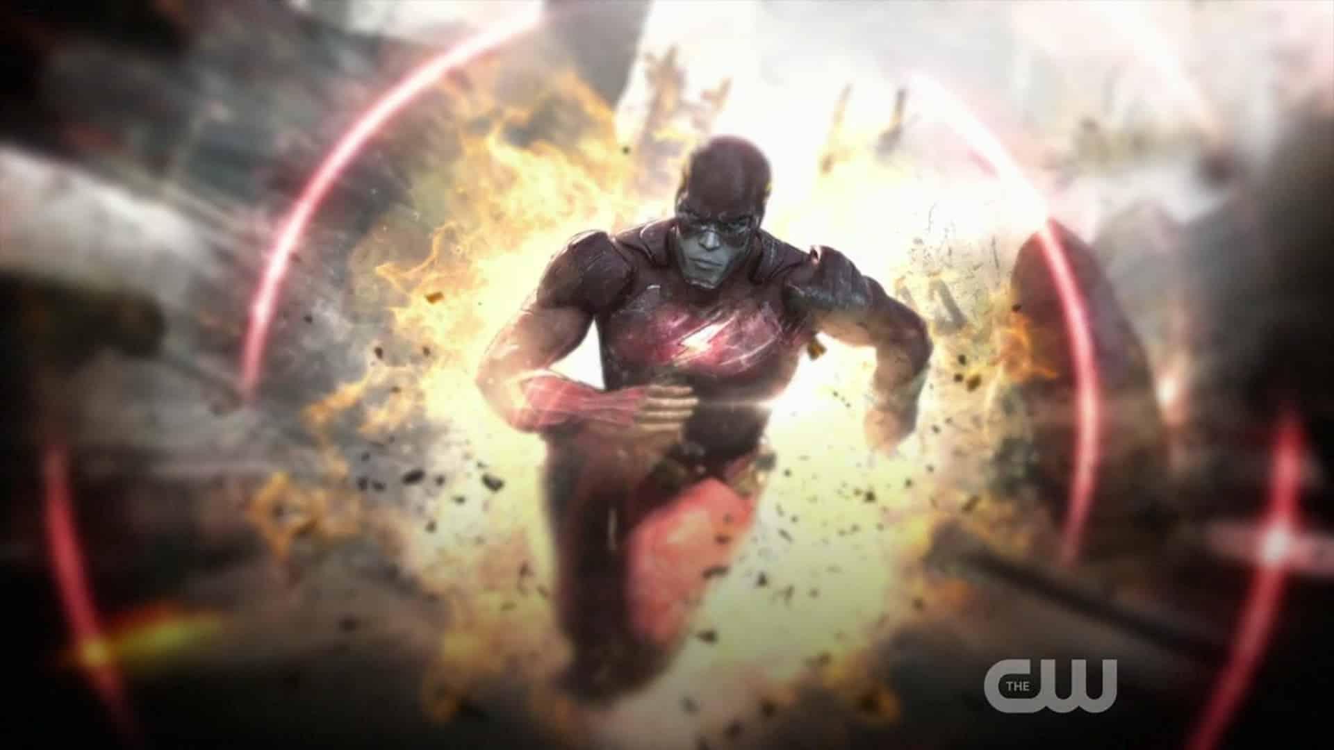 Prvotná animácia Flasha odvysielaná na CW