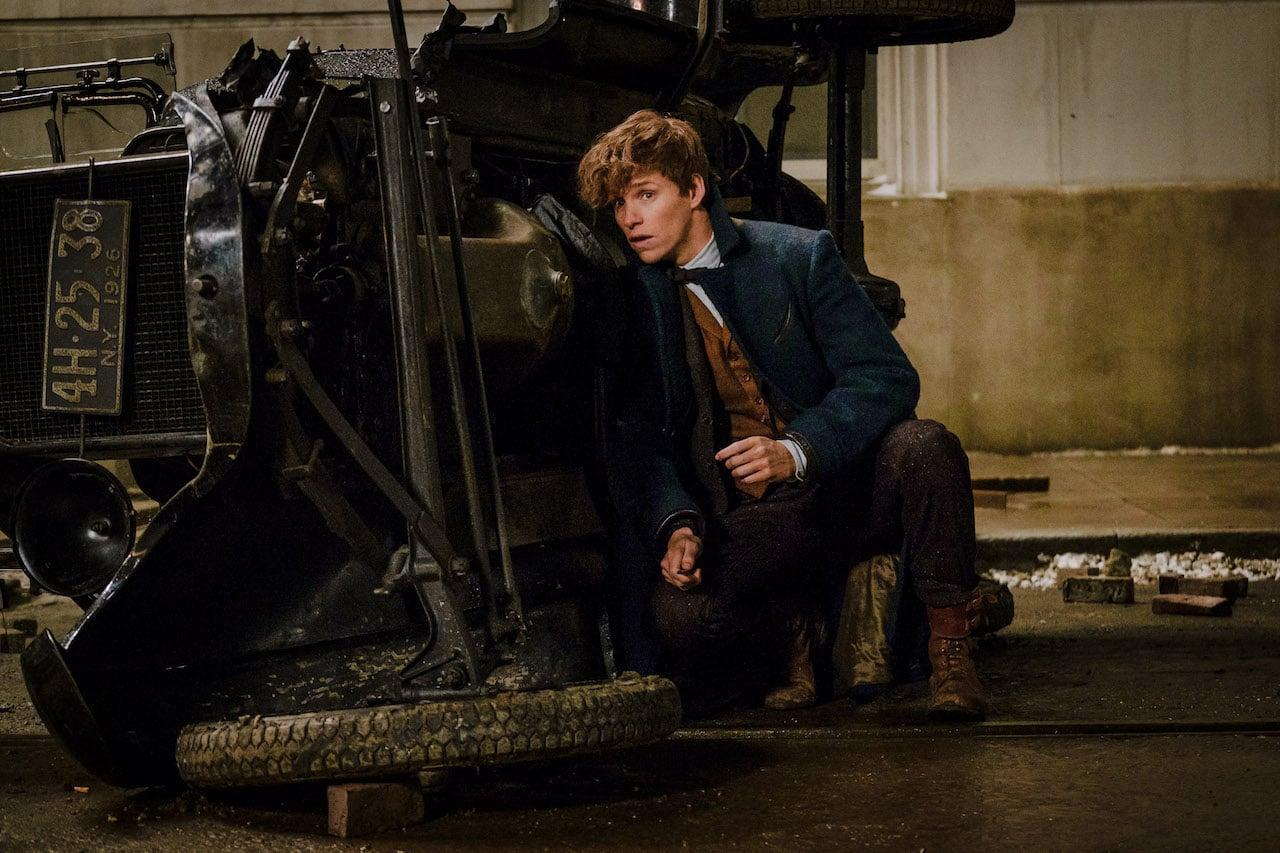 Eddie Redmayne ako Newt Scamander