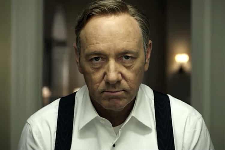 Kevin Spacey ako Frank Underwood