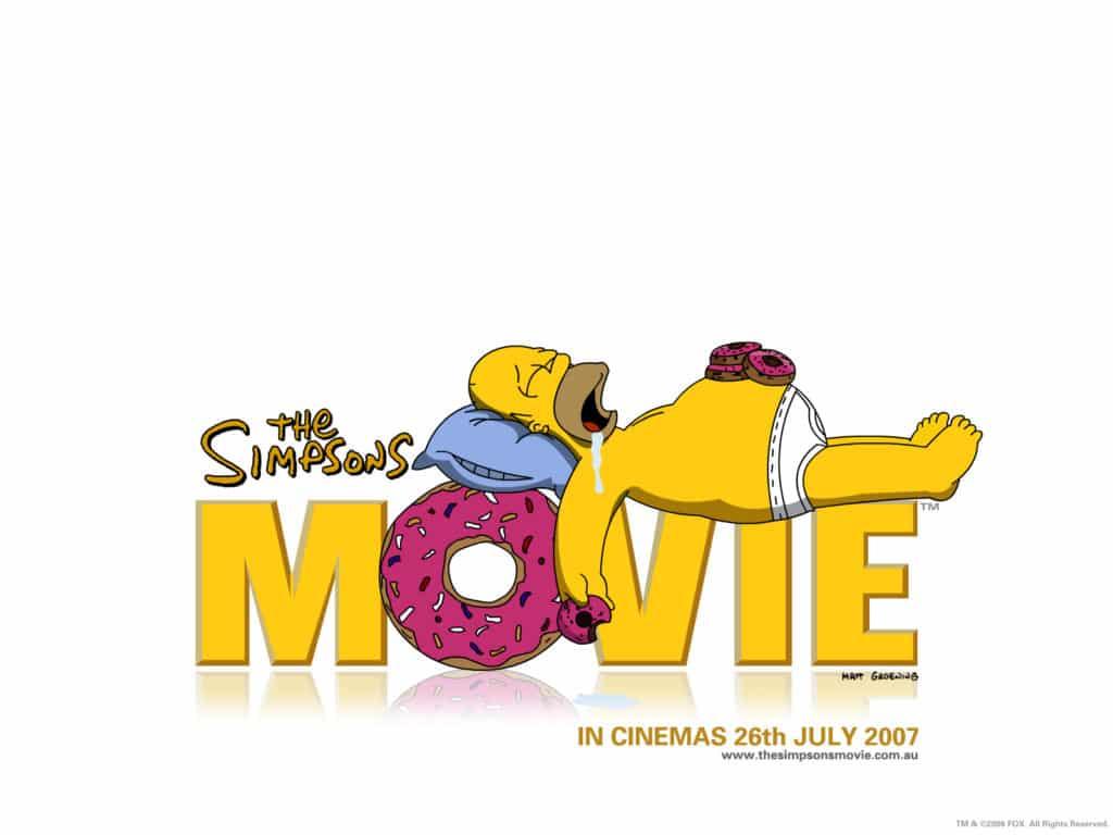 Simpsonovci vo filme debutovali v roku 2007