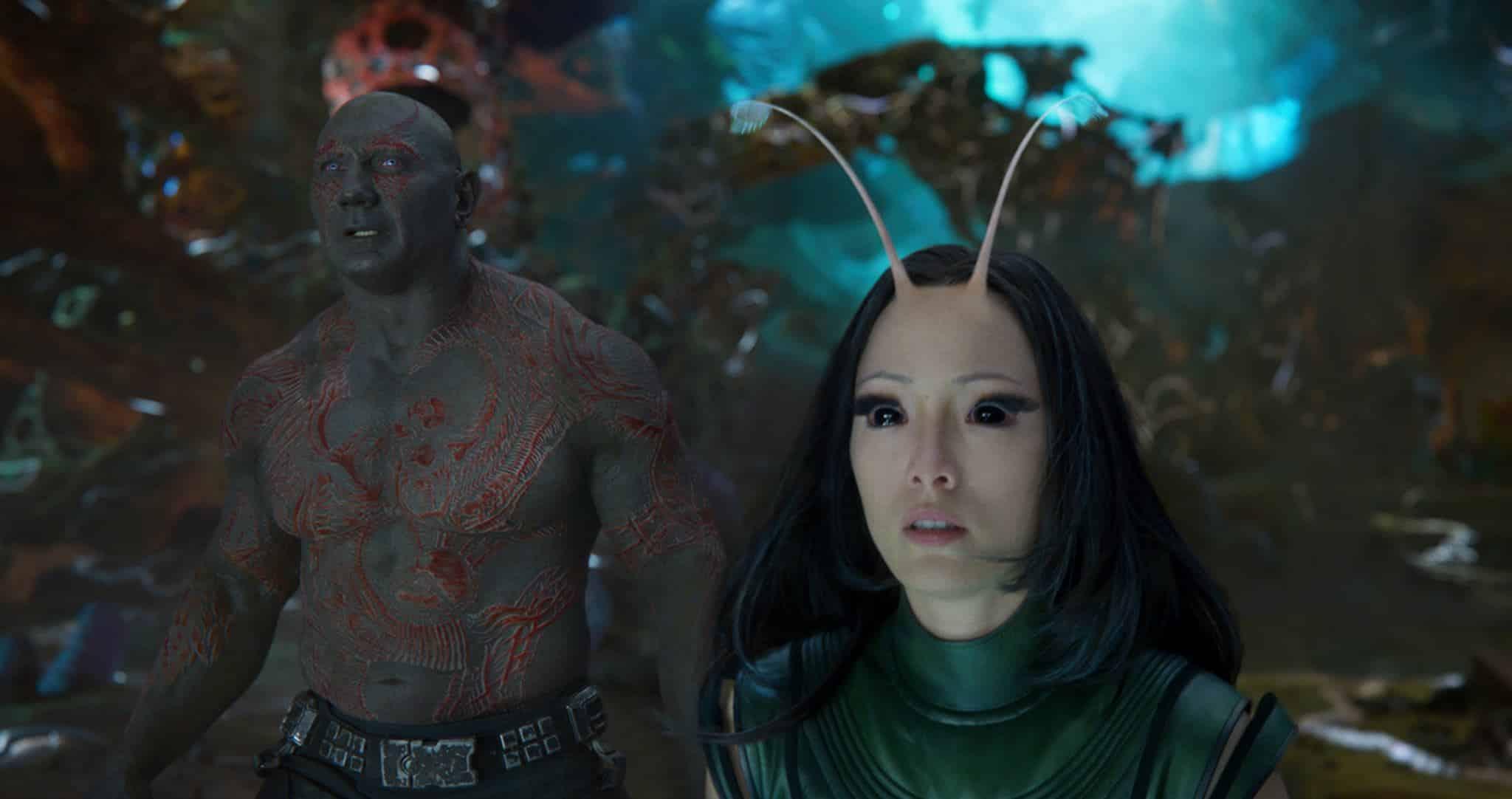 Drax a Mantis