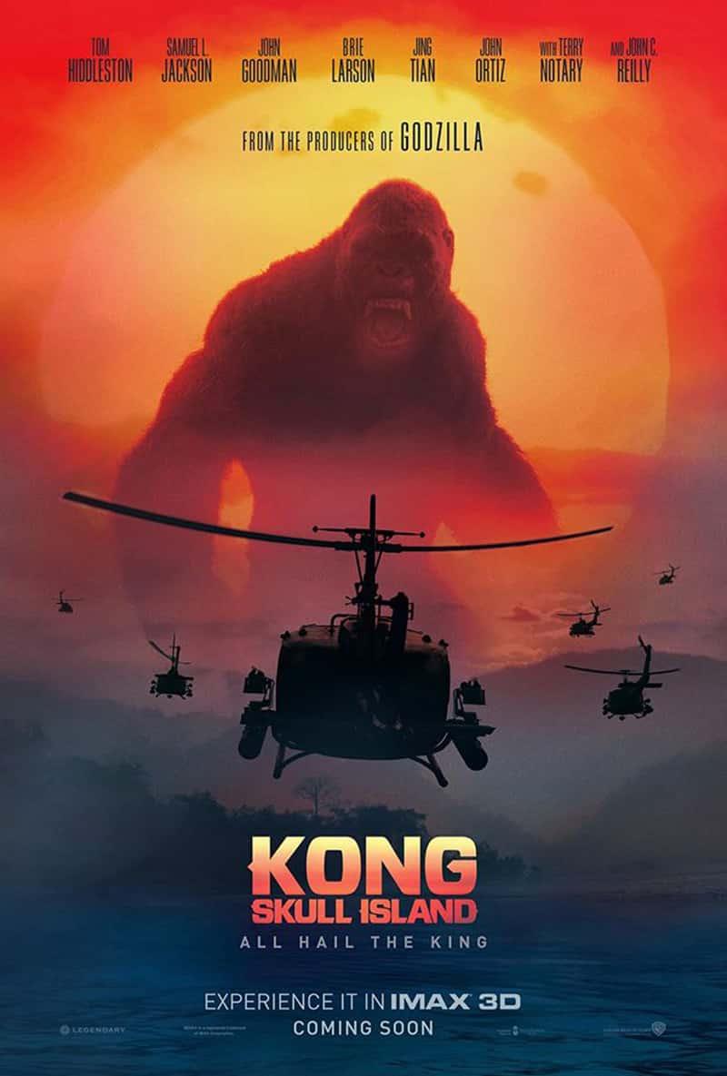 Plagát pre Kong: Skull Island, druhý film v sérii MonsterVerse!; Zdroj: comingsoon.net
