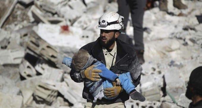 The White Helmets; Zdroj: eaworldview.com