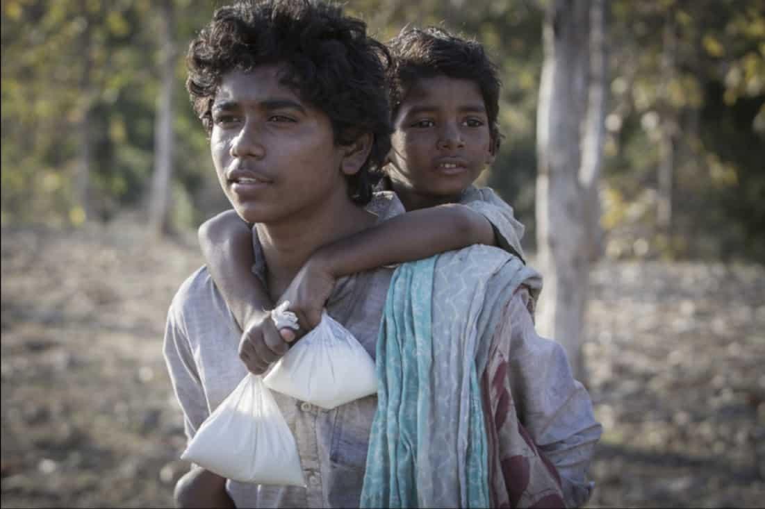 Malý Saroo bol neskutočne zahraný; Zdroj: zekefilm.com
