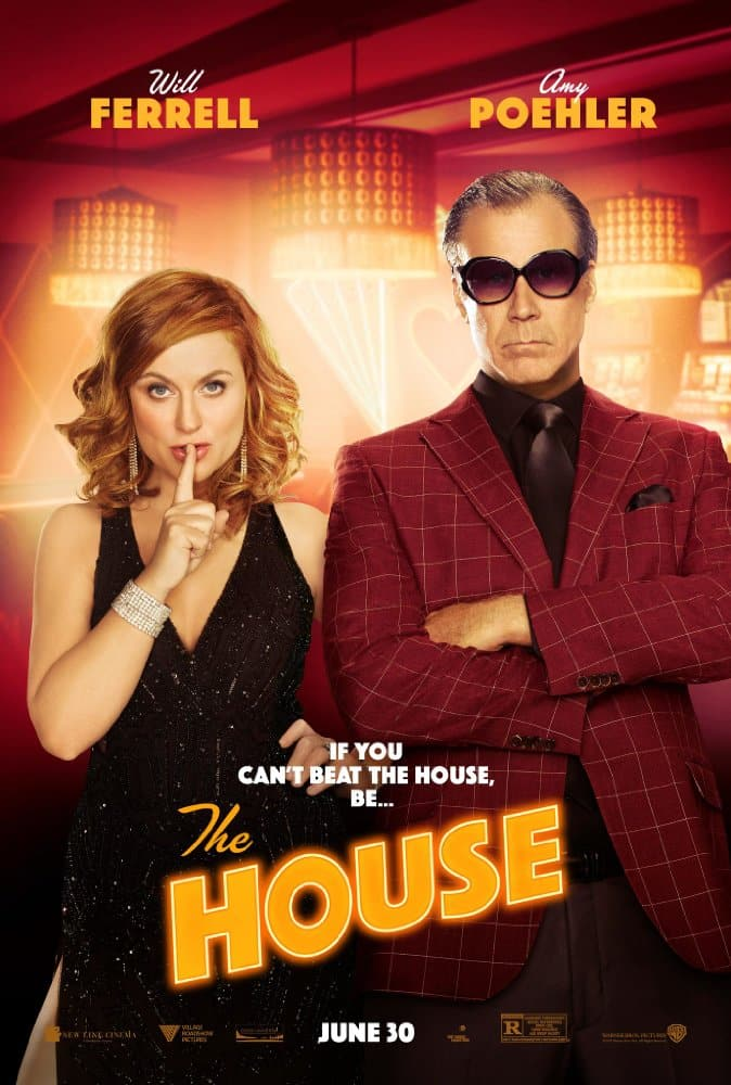 Oficiálny plagát pre film The House; Zdroj: imdb.com