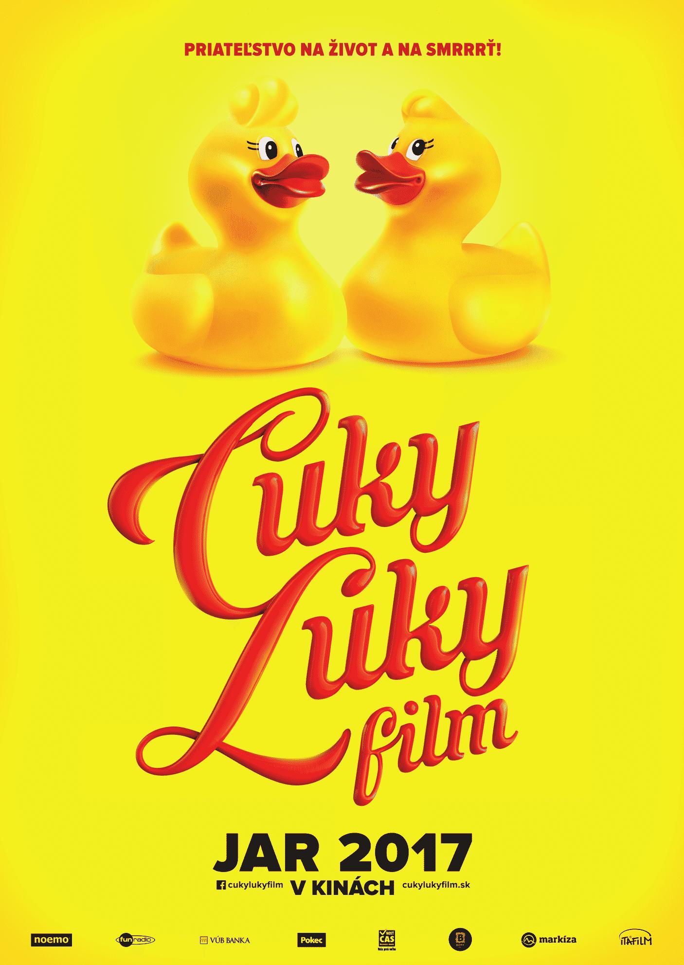 Oficiálny plagát pre Cuky Luky film; Zdroj: Itafilm.sk