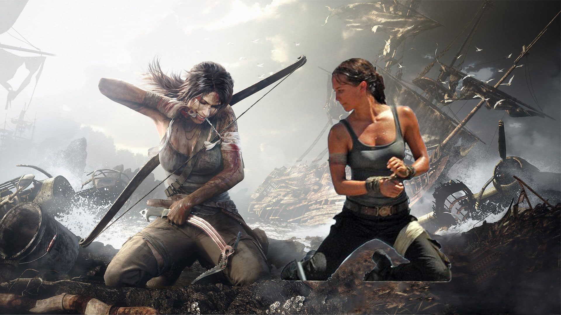fotky z natáčania Tomb Raider reboot