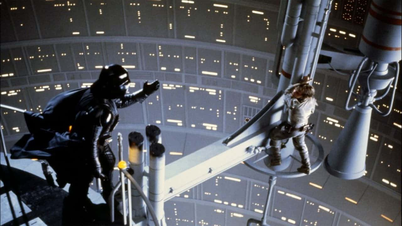 Kto by nepoznal túto legendárnu scénku (Star Wars Episode V: The Empire Strikes Back)
