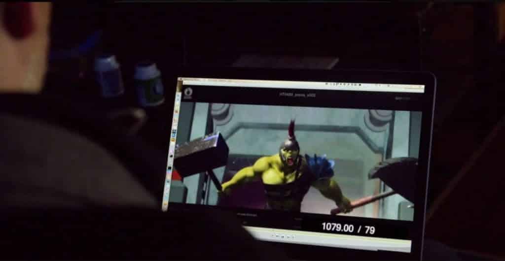 Animácia Gladiátorského Hulka, Zdroj: screenrant.com