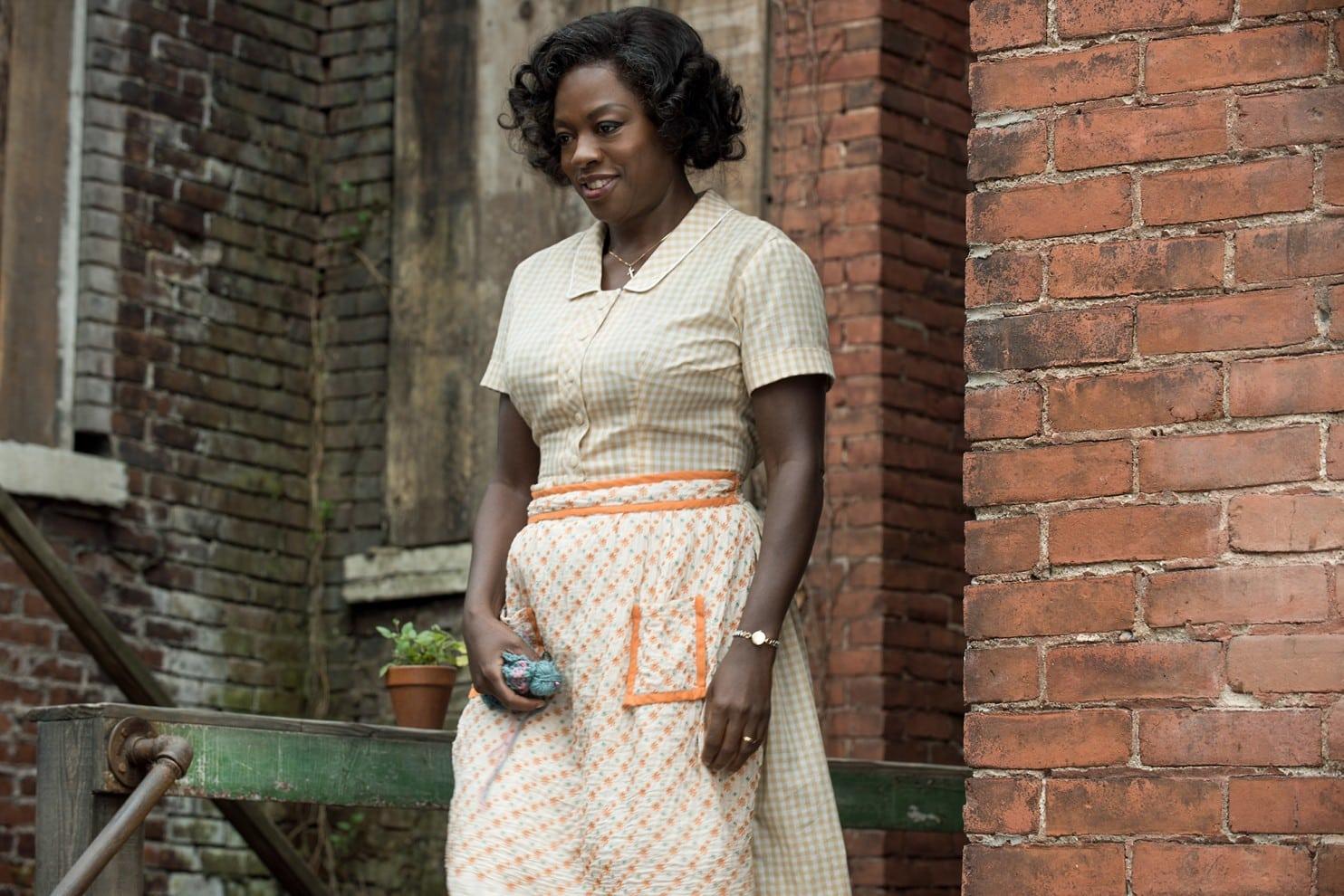 Najlepšia herečka vo vedľajšej roli: Viola Davis za Fences; Zdroj: washingtonpost.com