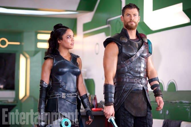 Valkyrie a Thor!