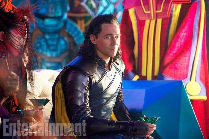 Prvý pohľad na Lokiho z filmu!
