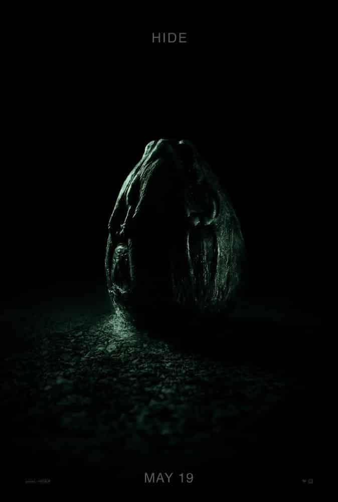 Druhý plagát k filmu Alien: Covenant!