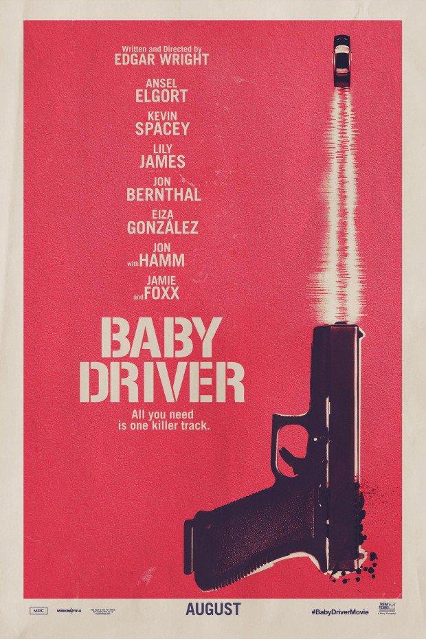 Oficiálny plagát k filmu Baby Driver!; Zdroj: imdb.com