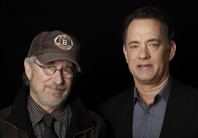 Steven Spielberg a Tom Hanks