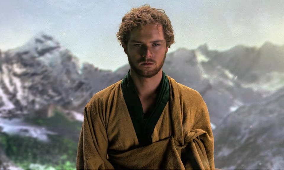 Finn Jones ako Iron Fist
