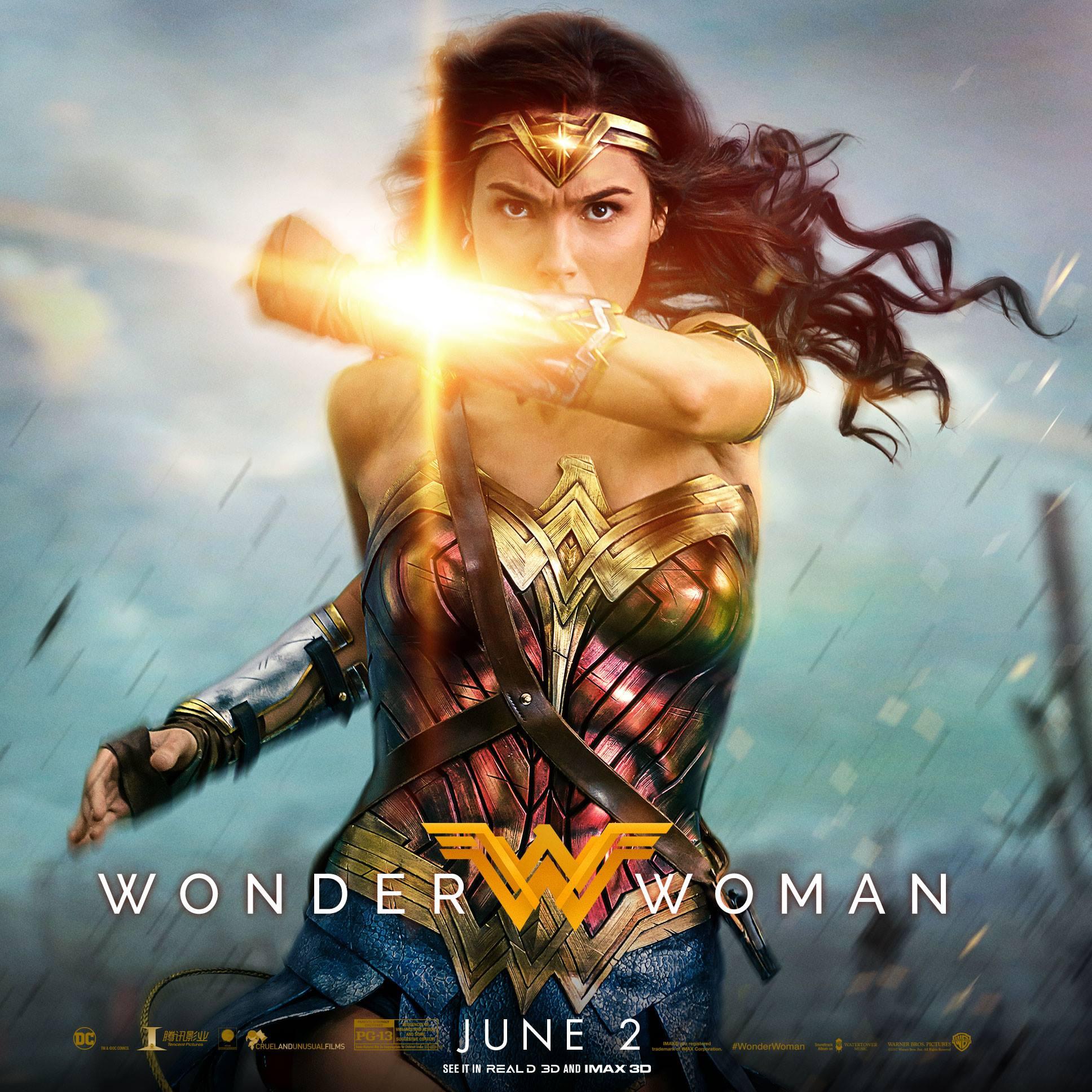 Oficiálny plagát pre Wonder Woman