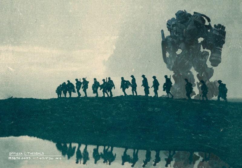 Ironhide v Prvej svetovej vojne?