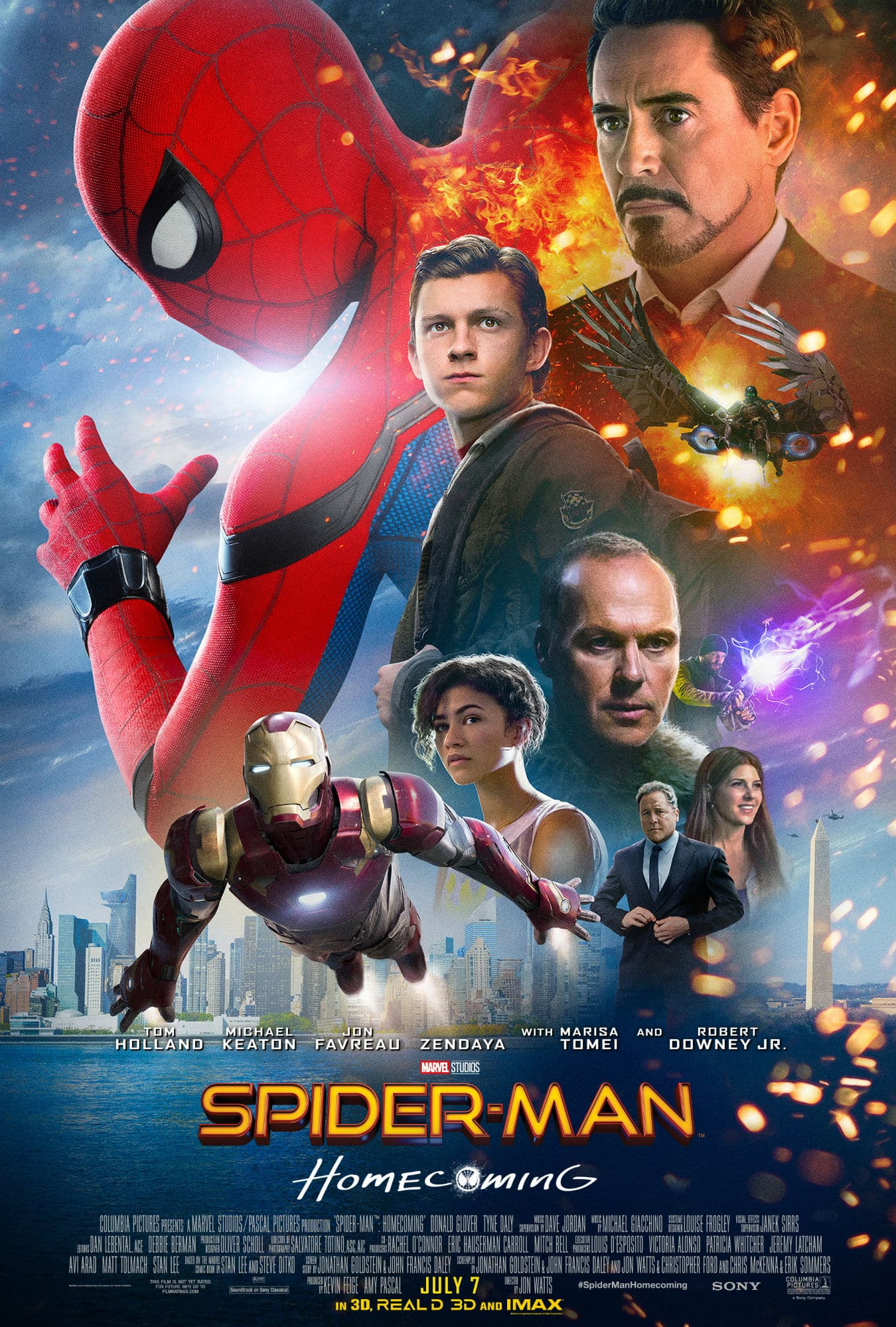 Oficiálny plagát pre Spider-Man: Homecoming