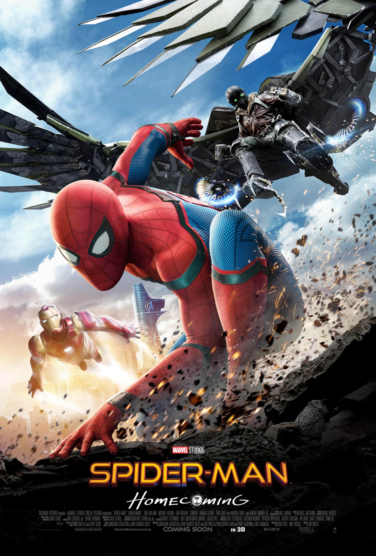 Oficiálny medzinárodný plagát pre Spider-Man: Homecoming