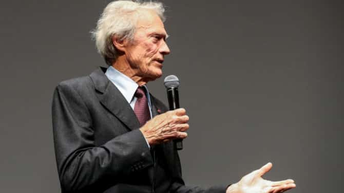 Clint Eastwood na Cannes 2017,