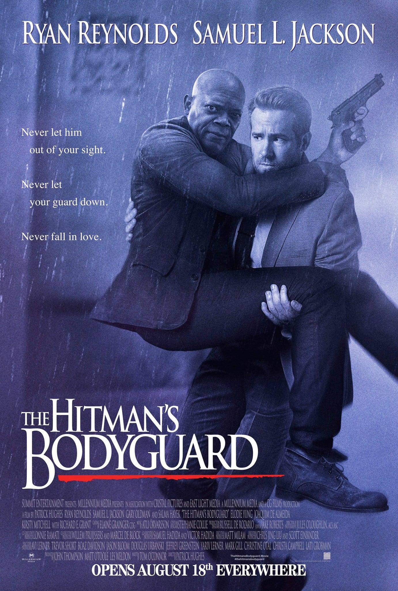 Oficiálny plagát na The Hitman's Bodyguard