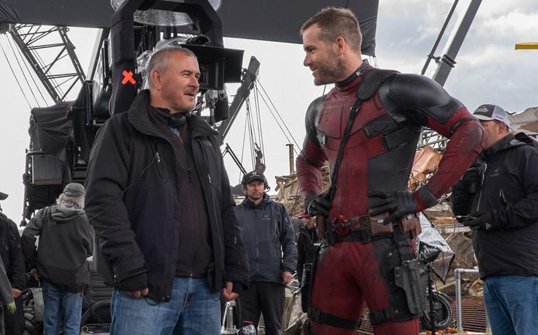 Fotka z natáčania Deadpoola