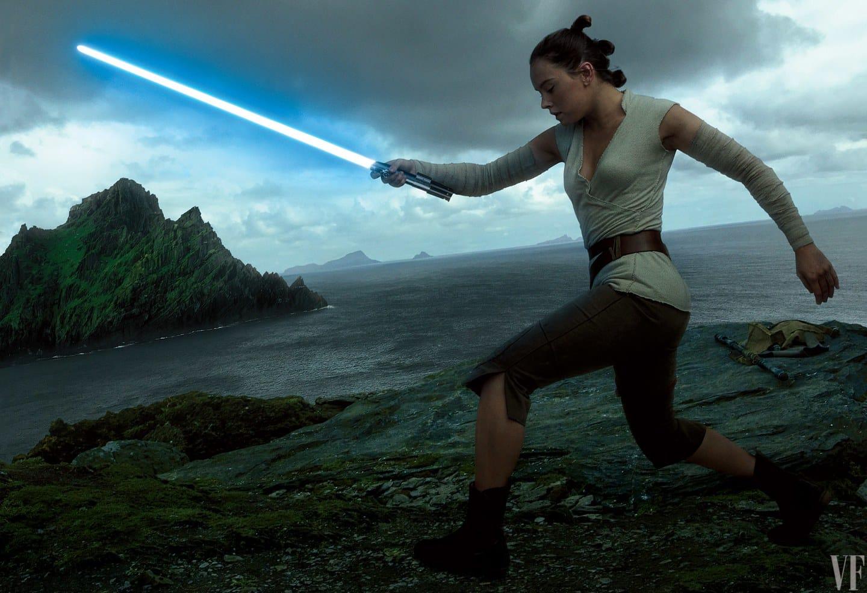 Rey počas jej tréningu