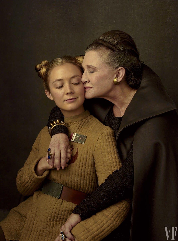 Carrie Fisher s jej dcérou Billie Lourd