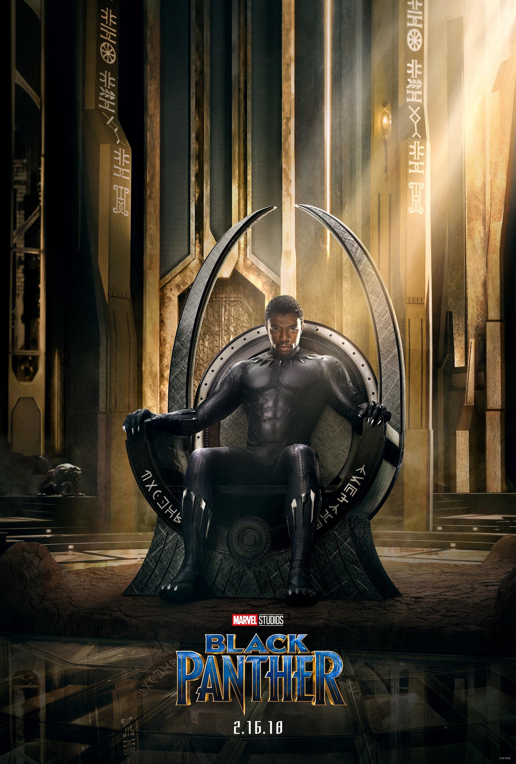 Oficiálny teaser plagát na Marvelovku Black Panther