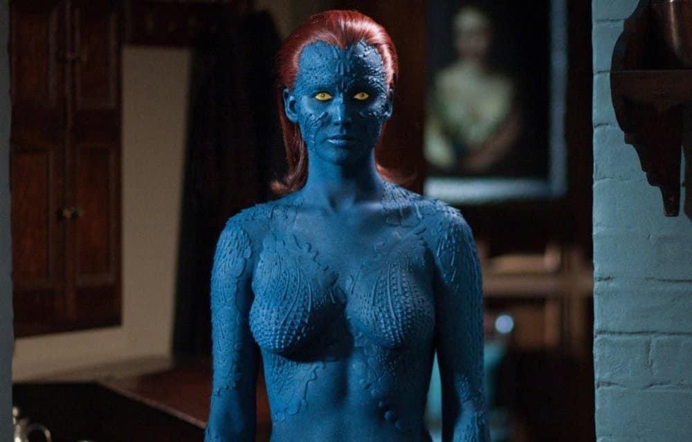 Alebo ju máte radšej ako Raven/Mystique z X-Menov?