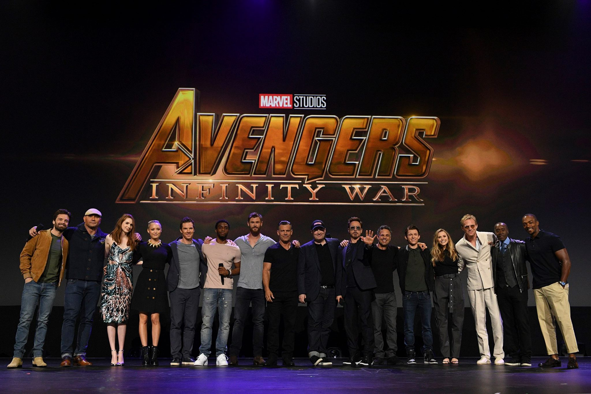 Herci z Avengers: Infinity War pokope na D23