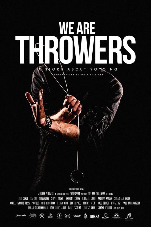 Plagát k dokumentu We Are Throwers