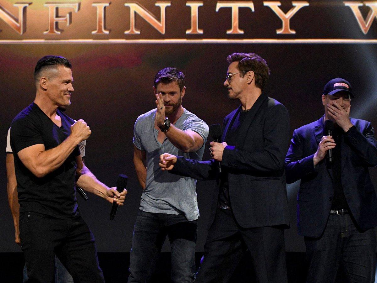 Robert Downey jr. (Iron Man) vyzval Josha Brolina (Thanosa) na súboj!