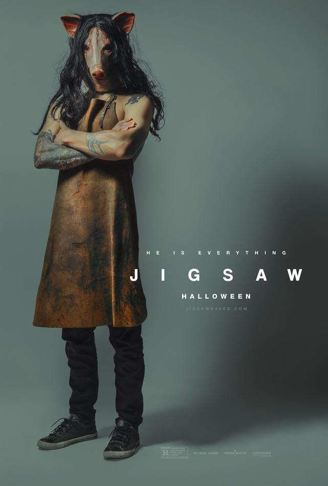 Nový, bizarný plagát pre film Jigsaw, Zdroj: comingsoon.net