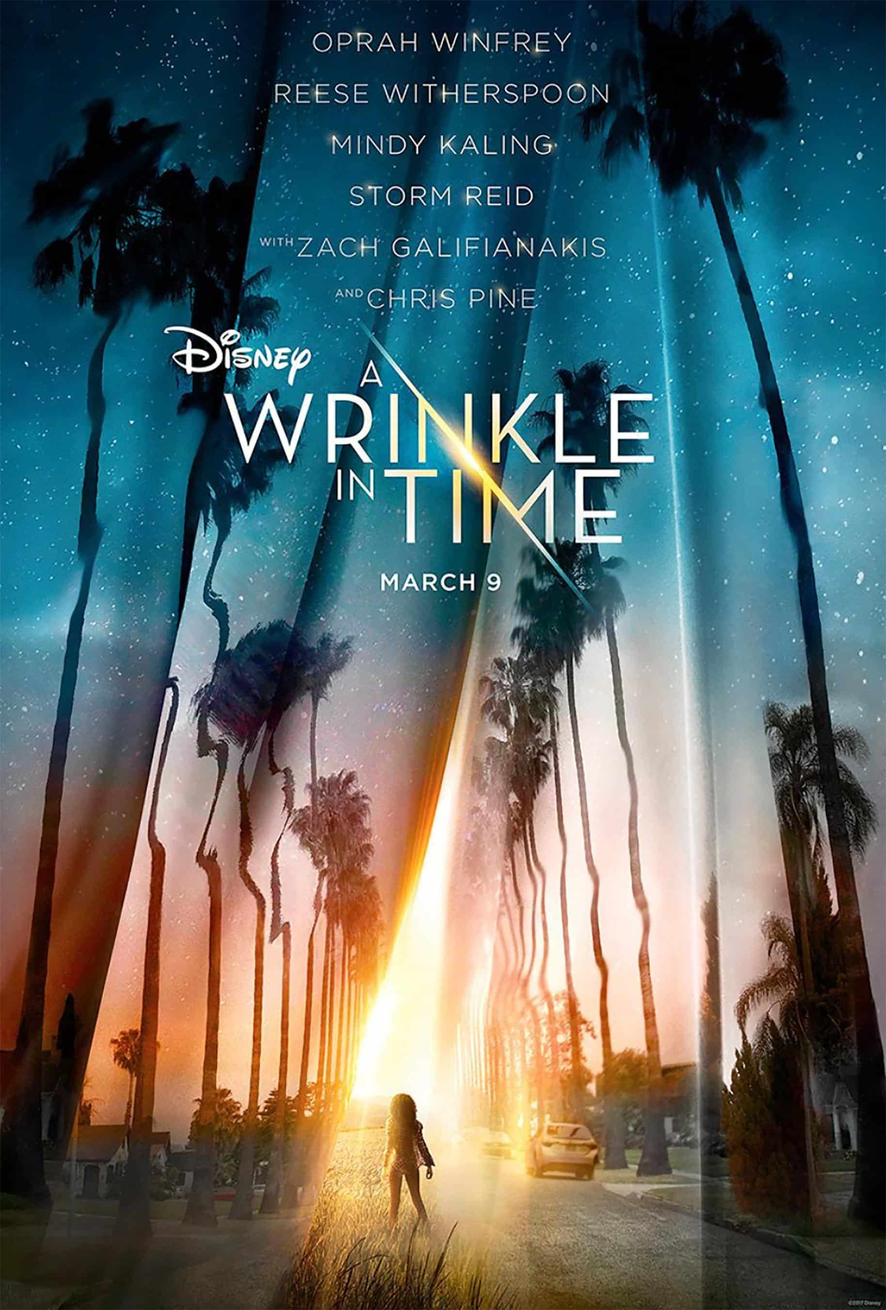 Oficiálny plagát filmu A Wrinkle in Time