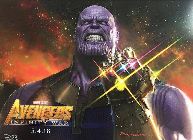 Nový concept-art Thanosa z D23!