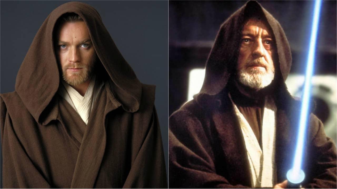 Obi-Wan Kenobi v podaní Ewana McGregora (I-III) a v podaní Aleca Guinnessa (IV-VI)