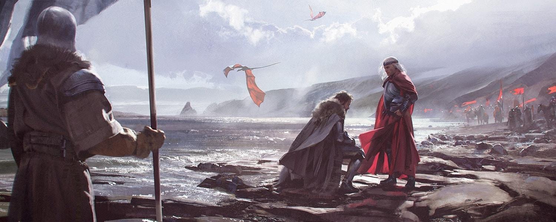 Aegon I. po dobytí Siedmych Kráľovstiev