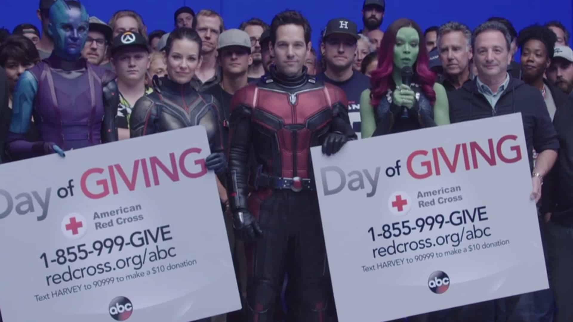Ant-Manov nový oblek, pravdepodobne na natáčaní štvrtých Avengers!