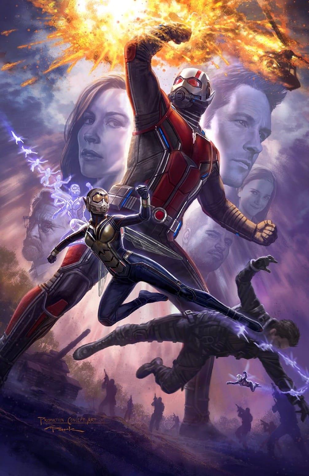 Plagát na Ant-Man & The Wasp z tohtoročného Comic-Conu!