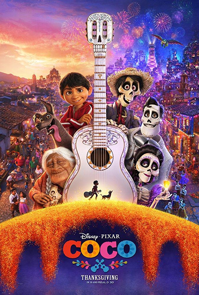 Oficiálny plagát k filmu Coco